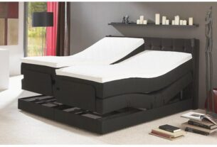 Sleep in a box spring bed